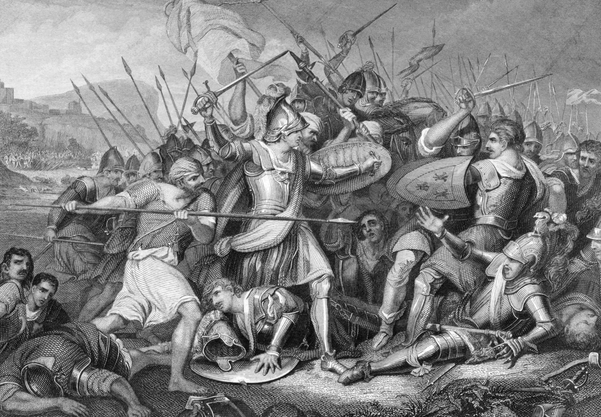 Lessons learned from Battle of Agincourt for business leadership.